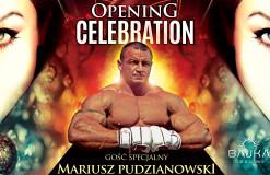 Opening Celebration – Mariusz Pudzianowski